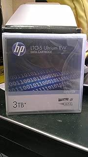 HP C7975A 1/2-Inch Ultrium LTO-5 Cartridge, 2775ft, 1.5TB Native/3TB Compressed Capacity