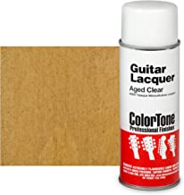 ColorTone 50s Classic Colors Aerosol Guitar Lacquer, Aged Clear
