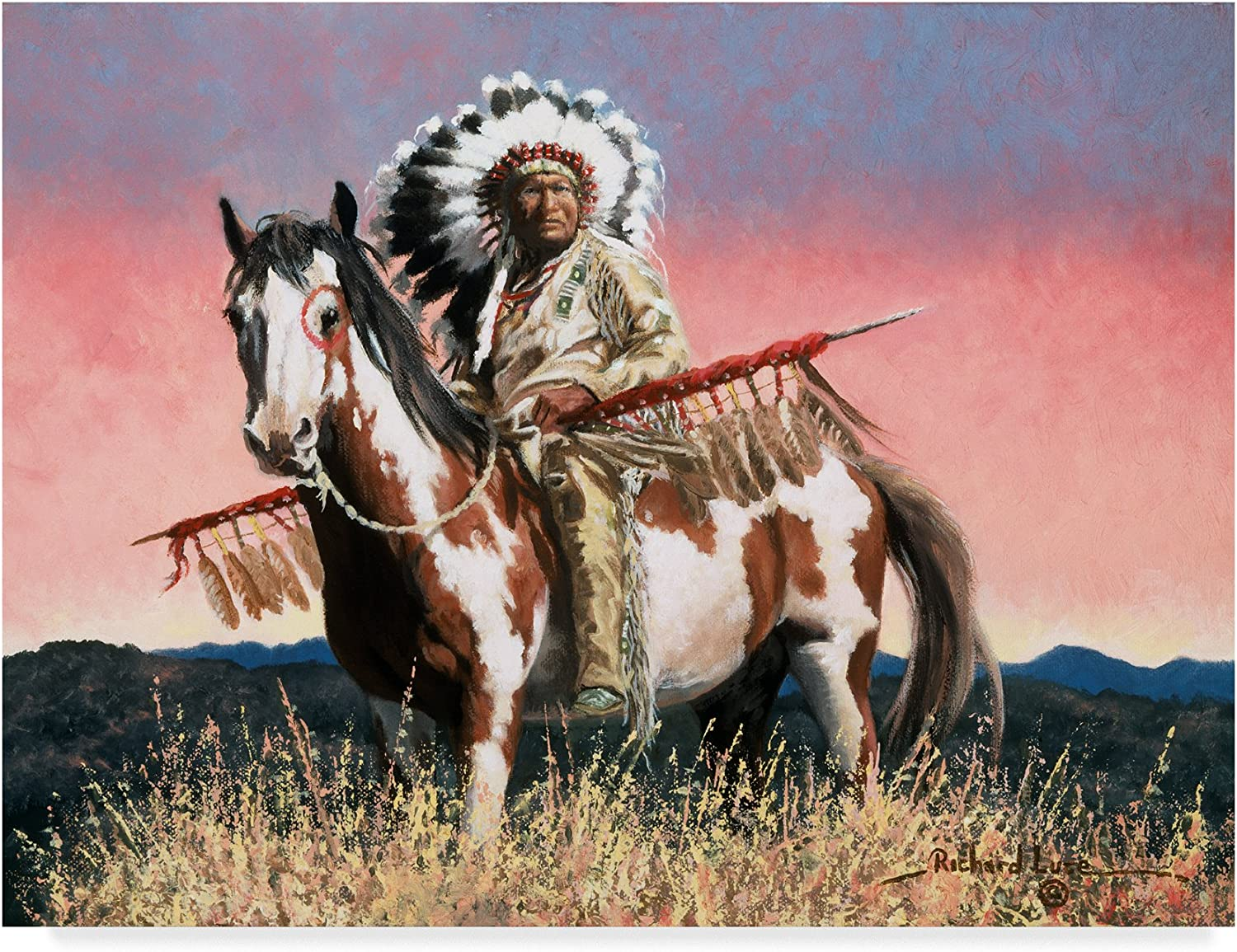 Man Of Many Honors by Richard Luce, 14x19Inch