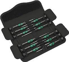 Wera 05073675001 Micro Skruvmejsel Set för Elektroniska Enheter, Flerfärgad, 12 st