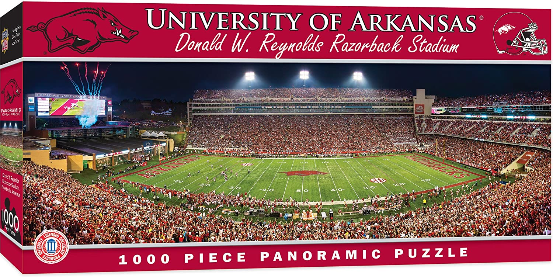 MasterPieces NCAAStadion, PanoramaPuzzle, 1000 Teile.