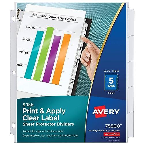 Dividers for Sheet Protectors: Amazon.com