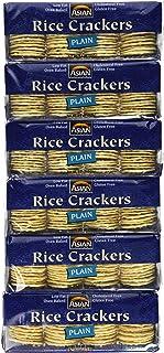 Asian Gourmet Rice Crackers Plain 3.5 oz (6 pack)