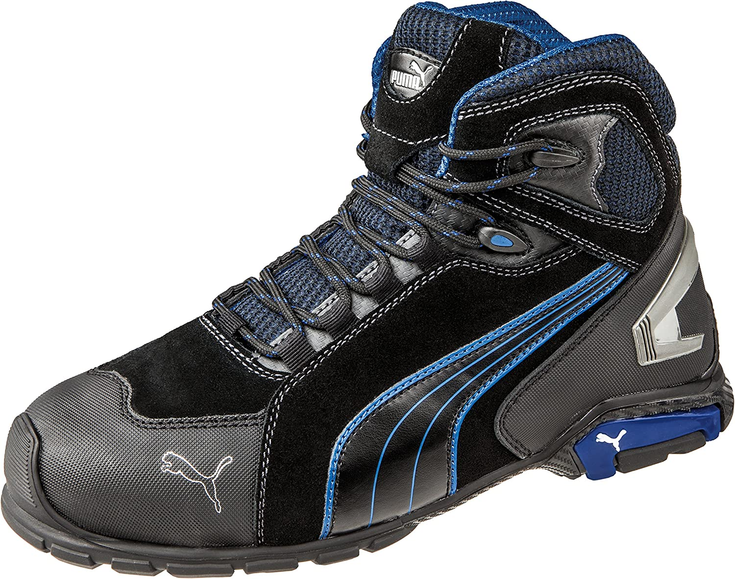 Puma Safety Mens Rio Mid Lace-up Safety Boot
