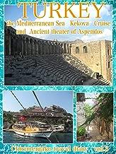 ちりめんじゃこ旅日記 vol.3 トルコ アスペンドスの古代劇場と地中海ケコヴァ島クルーズ