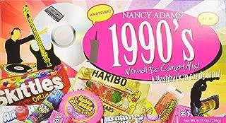 1990s Nancy Adams Nostalgic Candy Mix Gift Box 9.75 Oz. Gift Basket Classic 90's Candy