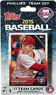 MLB Philadelphia Phillies Licensed 2015 Topps® Team Set