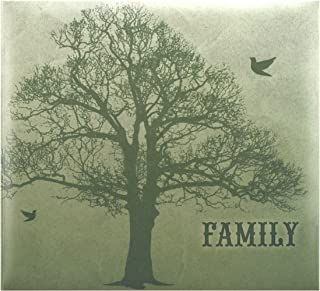 Expressions Collection Family Expandable Scrapbook, Includes 10 Acid Free 12x12 inch Pages