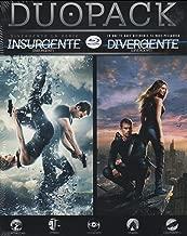 DuoPack Insurgente + Divergente (Pack Insurgent + Divergent) - English & Spanish Audio with Spanish Subtitles