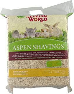 Living World Wood Aspen Shavings, 2500-Cubic Inch
