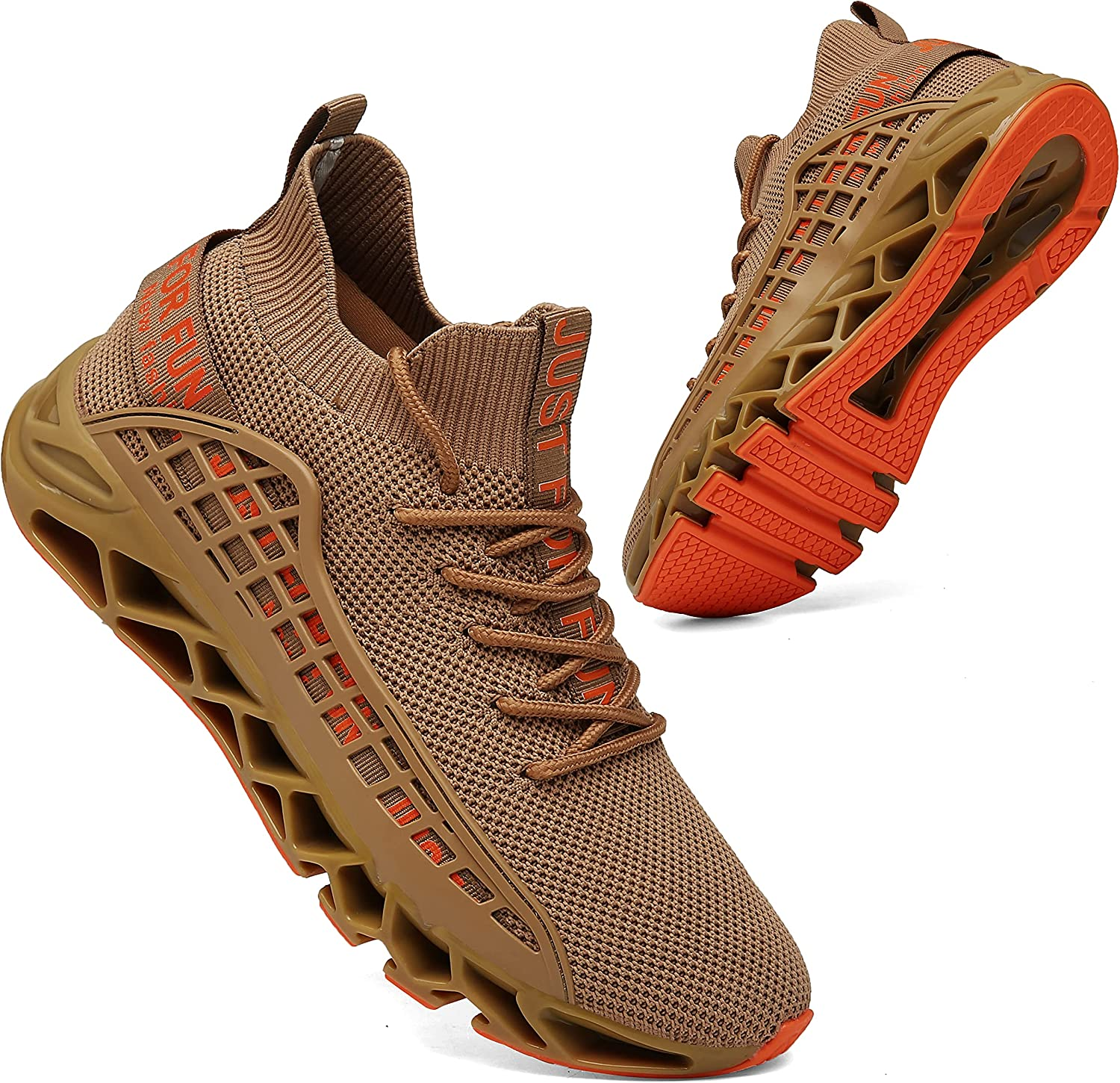 KUXIE famous Mens Running Bombing new work Shoes Athletic S Fashion Casual Walking