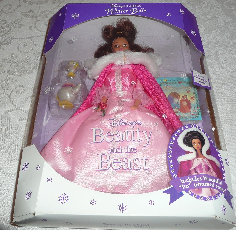 Disney Classic WINTER BELLE Beauty & the Beast doll