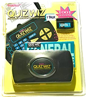 Quiz Wiz - Electronic Question & Answer Game by Tiger Electonics by Tiger Electonics