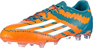 adidas Messi 10.2 FG Mens Football Boots/Cleats - Orange and Green