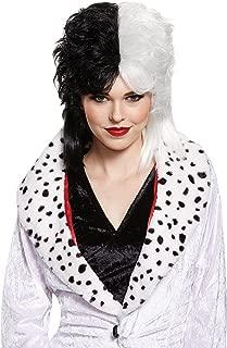 New Cruella De Vil Wig 101 Dalmatians Villains 65445