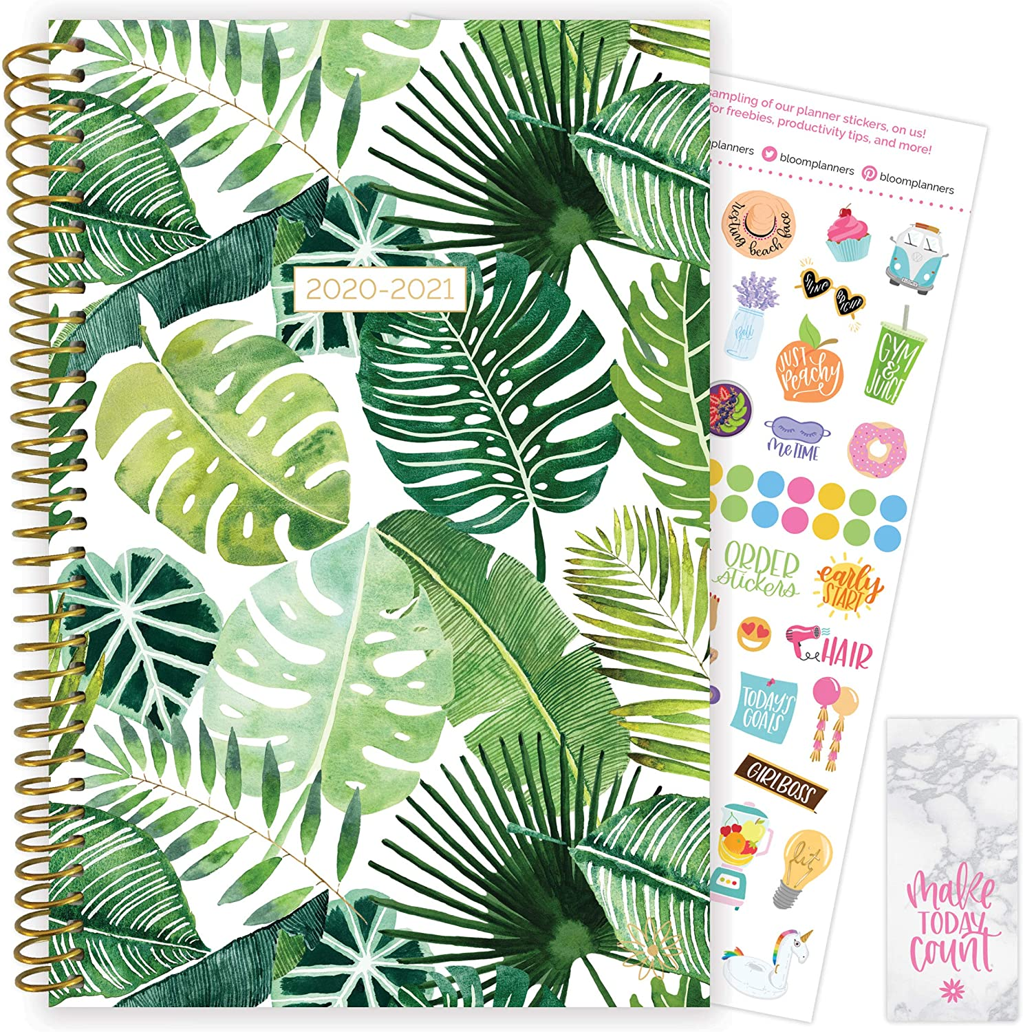 Factory outlet bloom daily planners 2020-2021 Academic Day Year Planner 2 Finally resale start July