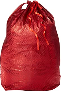 K-Kraft Giant 36 x 44 inch Christmas Gift Wrap Bag and Other Selections (Festive Red Stripes 36 x 44 inches)