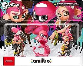 Nintendo - Amiibo Octoling Chico, Chica, Pulpo Pack de 3