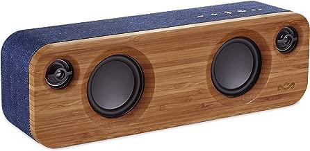 House of Marley Get Together Mini Wireless Portable Bluetooth Audio Speaker, Denim