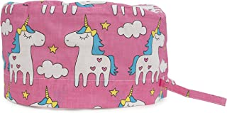 Scrub Cap Surgical Hat Unisex Animal Print Medical Uniform Unicorn