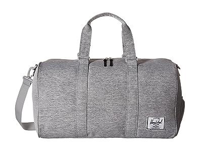 Herschel Supply Co. Novel (Light Grey Crosshatch) Duffel Bags