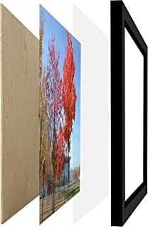 11 by 17 Inch Picture Frame Without Mat to Display Picture 11x17 Wall Mounting Document Certificate