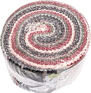 My Mind's Eye Winterberry Rolie Polie 40 2.5-inch Strips Jelly Roll Riley Blake Designs RP-8440-40