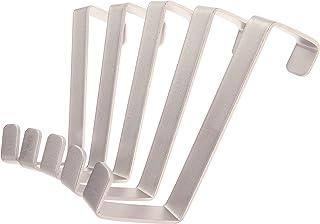 comprar comparacion Sobre los ganchos de la puerta 10 piezas - Hecho en Alemania - Perchas y ganchos de las puertas – Acero inoxidable