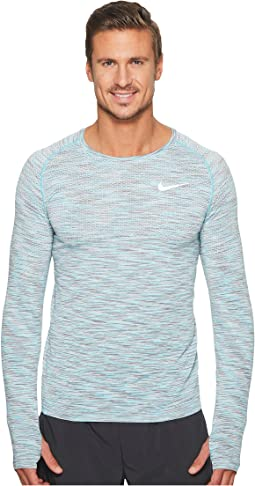 Nike - Dri-FIT Long Sleeve Knit Running Top