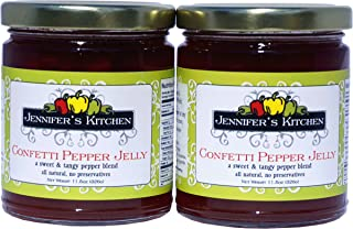 Jennifer's Kitchen Confetti Pepper Jelly ( Pack of Two)