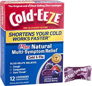 Cold-EEZE Cold Remedy Lozenges Mixed Berry, 12 Count