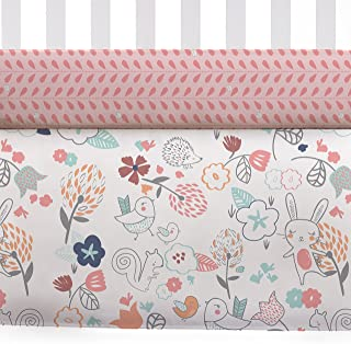 Lolli Living 101143 Pink Owl Fitted Sheet