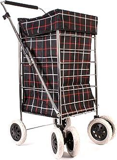 isolation deux Chariot de courses pliable /à roulettes 6959 Summer Noir Polka Dot-Sac isotherme