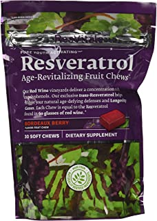 ResVitale Resveratrol - Bordeaux Berry 30 Chews