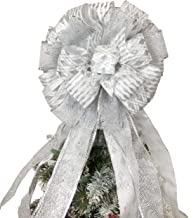 Best bows for top of christmas trees Reviews