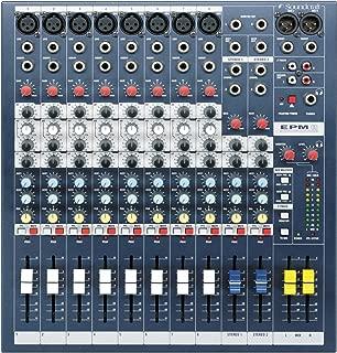 Soundcraft Mixer - Unpowered, 8 + 2 channels (EPM8)