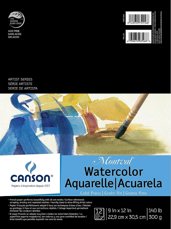 Canson Montval WaterFarbe Pad, 0, 9 9 9 X12  B00F3D8E8O | Die Farbe ist sehr auffällig  f078e5