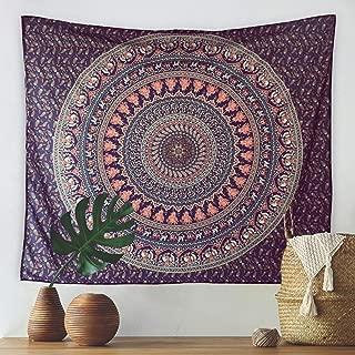 """MoMA Wall Tapestry - 51""""x60"""" Mandala Tapestry - Wall Hanging Tapestry - Bohemian Tapestry - Boho Wall Tapestry - Dorm Wall Tapestry - Hippie Wall Tapestry - Large Wall Tapestry - Wall Art Tapestry"""