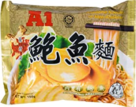 A1 Abalone Instant Noodle Soup 150g, Contains Real Abalone (3 Packs)