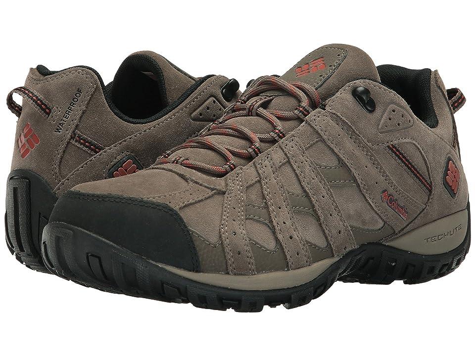 Columbia Redmond Leather Omni-Tech (Mud/Sanguine) Men