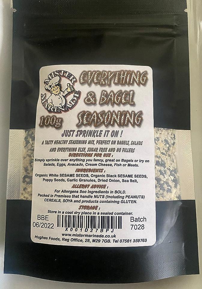 MISTER MARINADE Everything & Bagel Seasoning Mix 100g