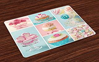 photo collage placemats