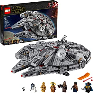 lego star wars millennium falcon playset