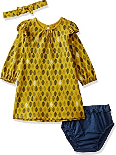 MINI KLUB Baby Girls' Knee-Long Dress (Pack of 3)