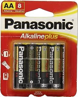 Panasonic (PNBAM3-8BX) AA Cell Alkaline Battery 8-Pk