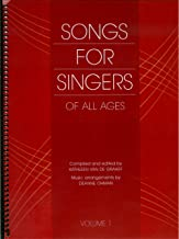 Song For Singers Of All Ages: Volume 1