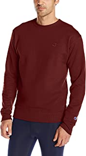 Champion Men's Powerblend Pullover Sweatshirt, Maroon, XX-Large