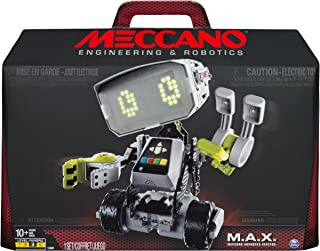 Meccano-Erector M.A.X Engineering and Robotics Interactive Toy with Artificial Intelligence