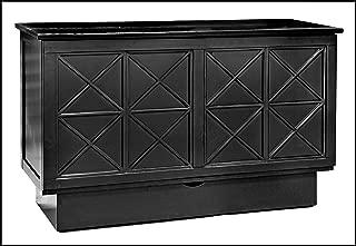 Arason Essex Creden-ZzZ Cabinet Bed | Black