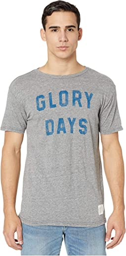 Short Sleeve Vintage Tri-Blend Glory Days Tee